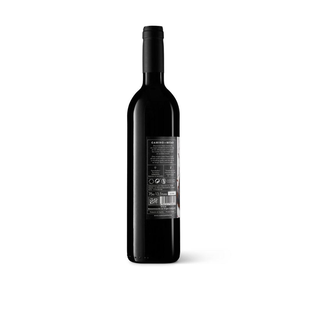 Crianza 2015 vino wine Rioja - Camino Mitad