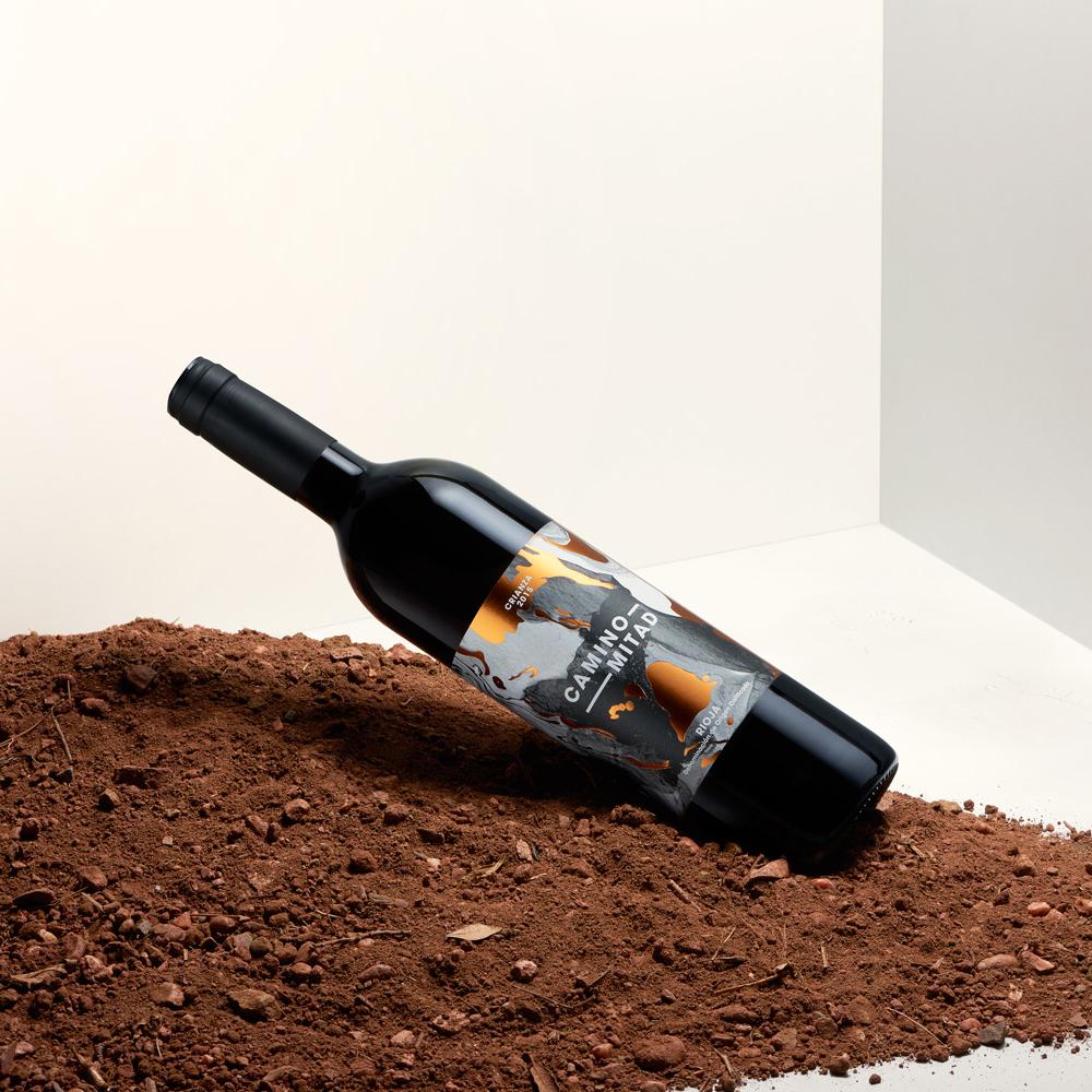Crianza 2015 Rioja vino tinto - Camino Mitad