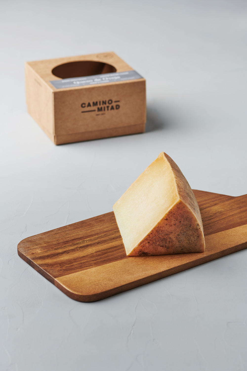 Queso de Oveja Curado MATURE SHEEP'S CHEESE - Camino Mitad