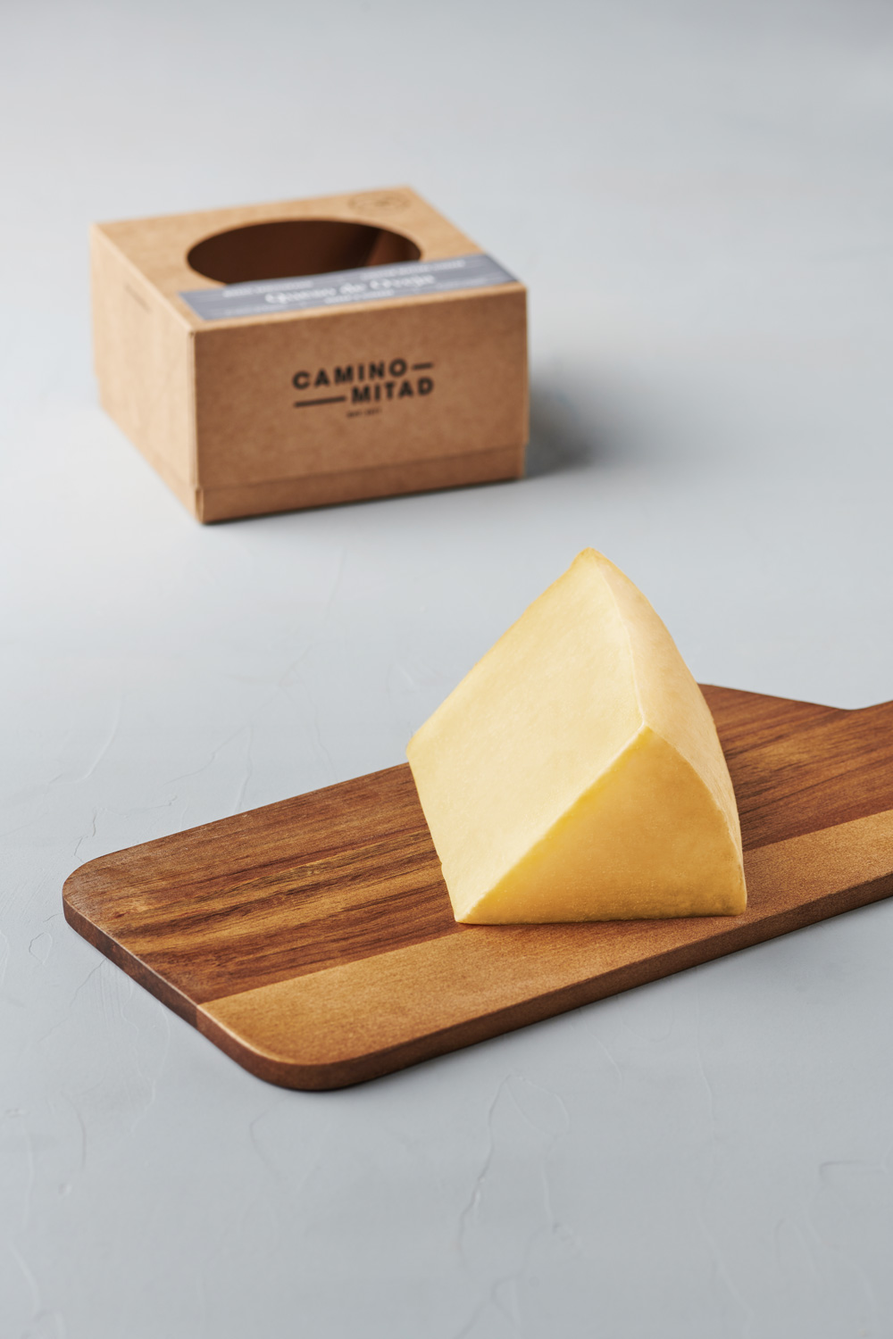 Queso de oveja semicurado Lighter Mature Sheep's Cheese - Camino Mitad