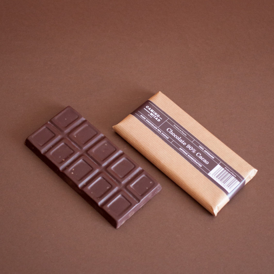 Handcrafted Chocolate bar 90% Cacao