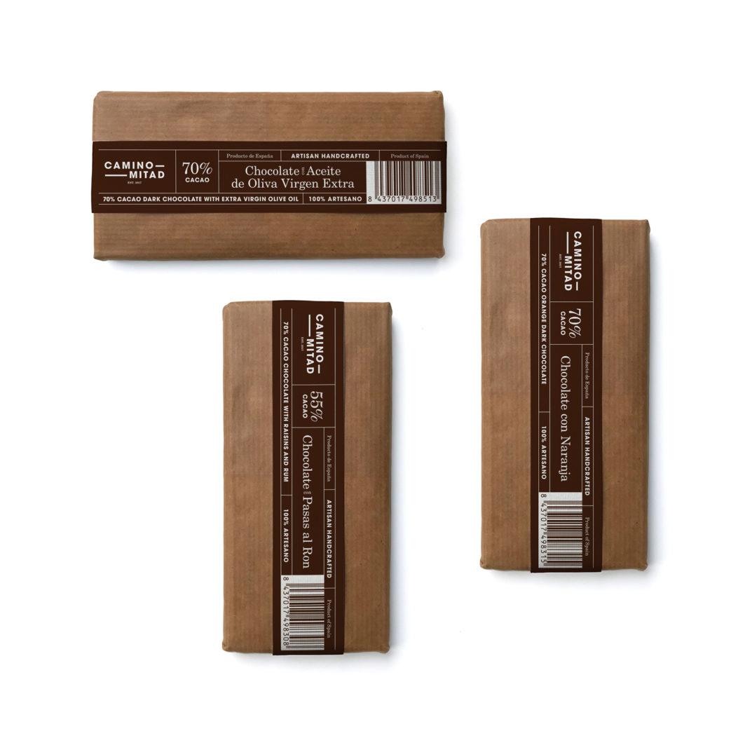 Chocolates Artesanos Camino Mitad
