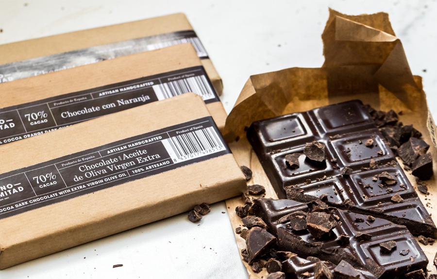 90% cocoa is pure desire Camino Mitad